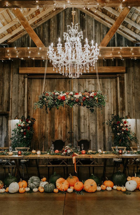 barn wedding decor, barn wedding reception decoration, pumpkin wedding decorations