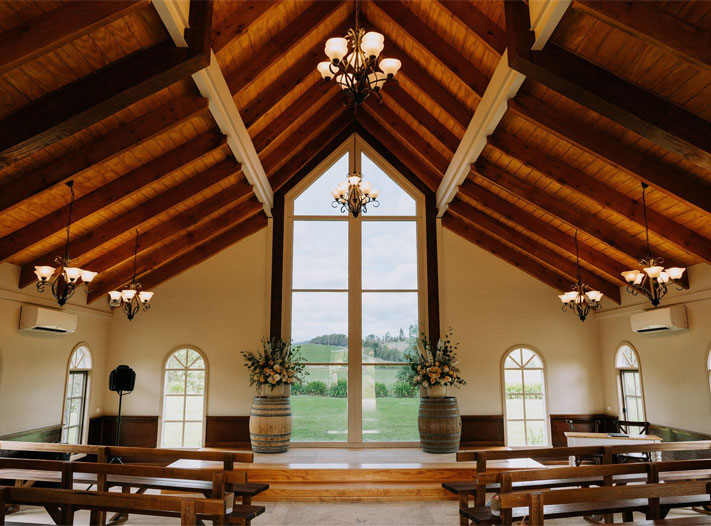 vineyard chapel, wedding ceremony, vineyard wedding ceremony decor, summer wedding