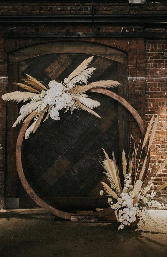 wedding arch, circle wedding arch, wedding ceremony decor , wedding ceremony decoration, circular wedding arch