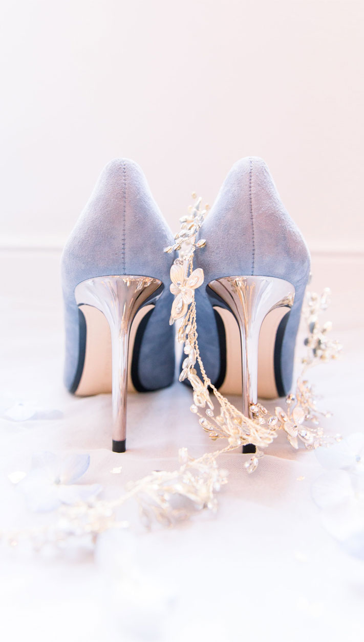 blue wedding shoes, blue bridal shoes, powder blue bridal shoes, bridal heels, wedding heels, blue wedding heels #weddingshoes