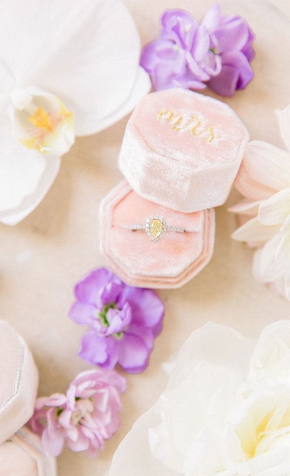 french chateau wedding, wedding #wedding #chateauwedding , french wedding, engagement ring , pink ring box
