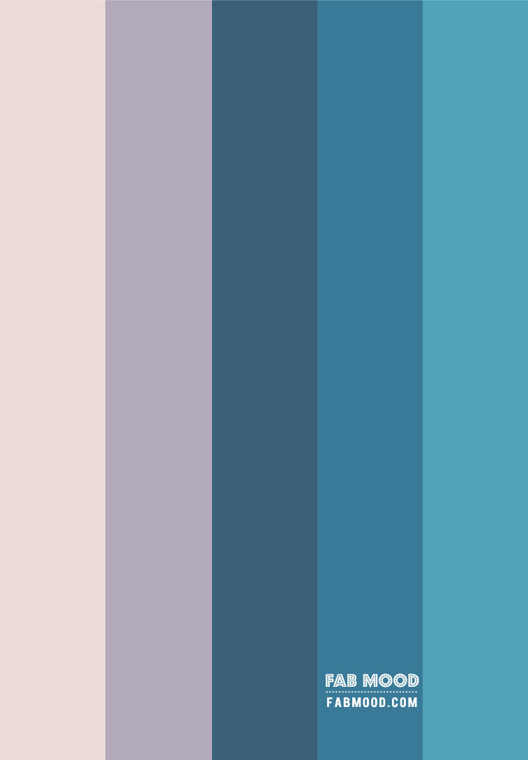 Lavender and Teal Color Combos