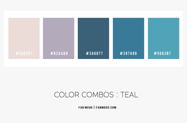 color combos, color combinations, teal color combinations, teal and lavender color combos #teal #color