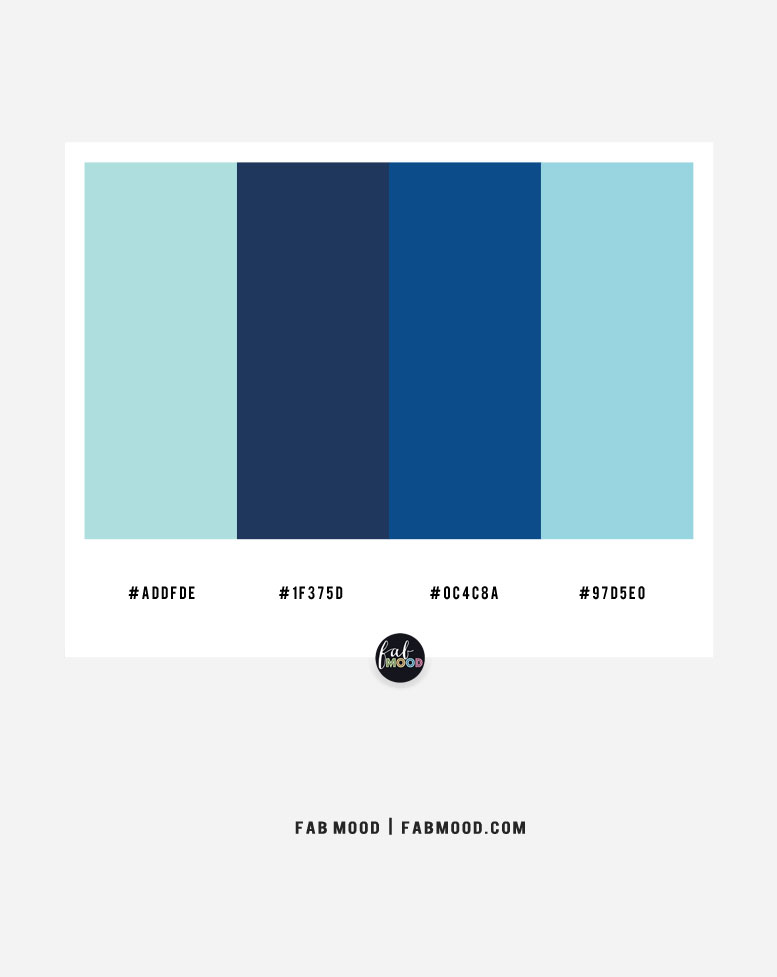 Blue Color Combinations – Color Combo #34