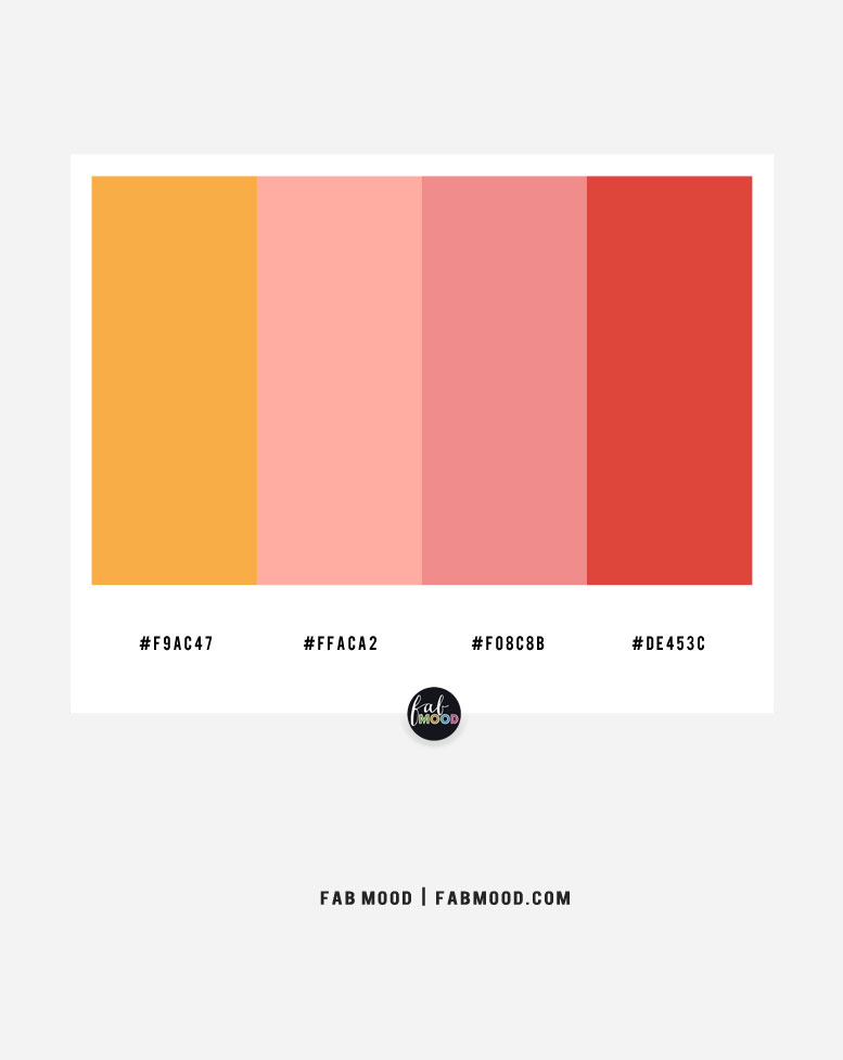 Pink and Saffron color scheme – color combo #35