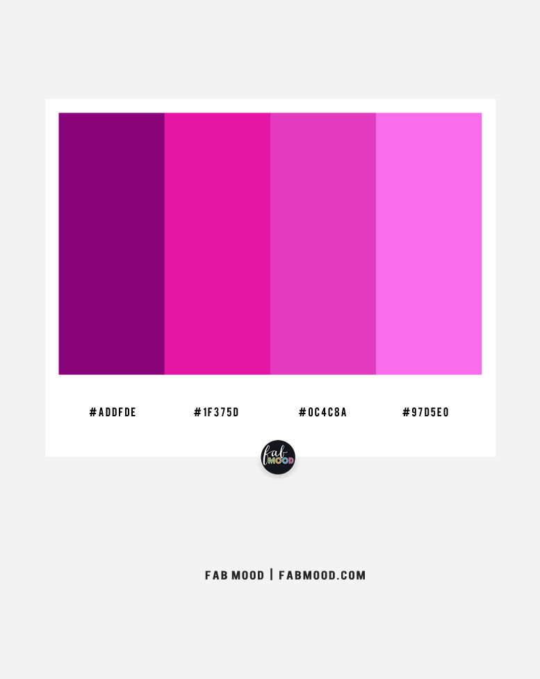 Magenta and Purple – color combo #40