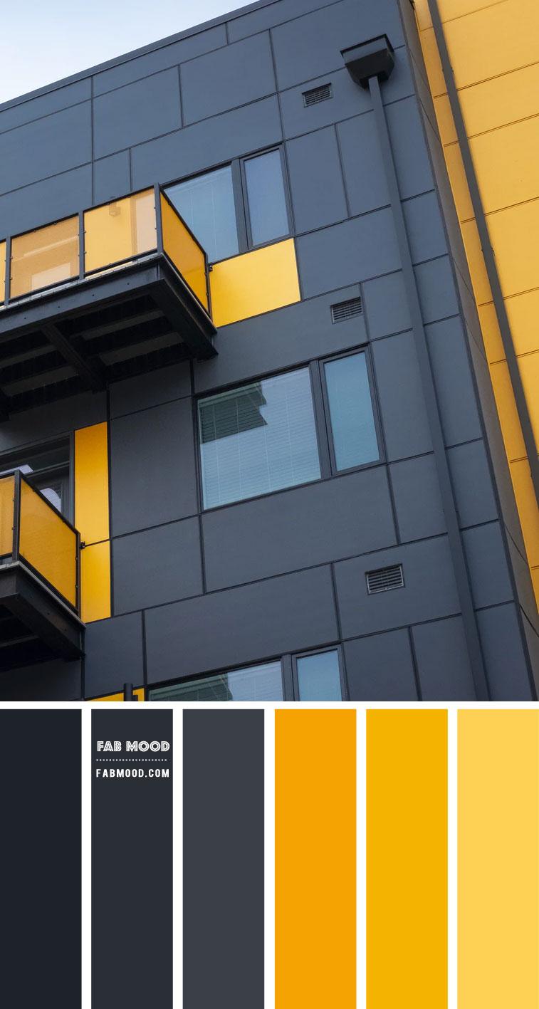 Black and Yellow Color Scheme  – Color Palette #52