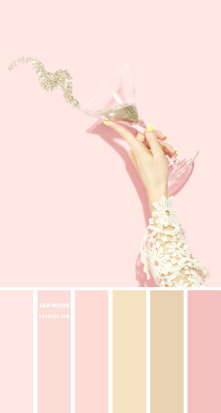 Blush and gold color scheme  – Color Palette #54