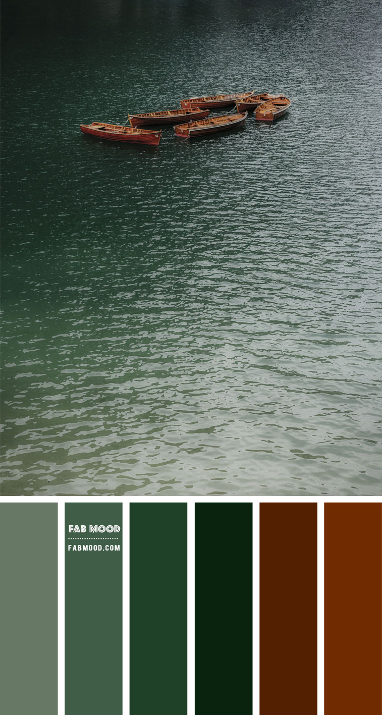 Brown and Green Color Scheme – Color Palette #60