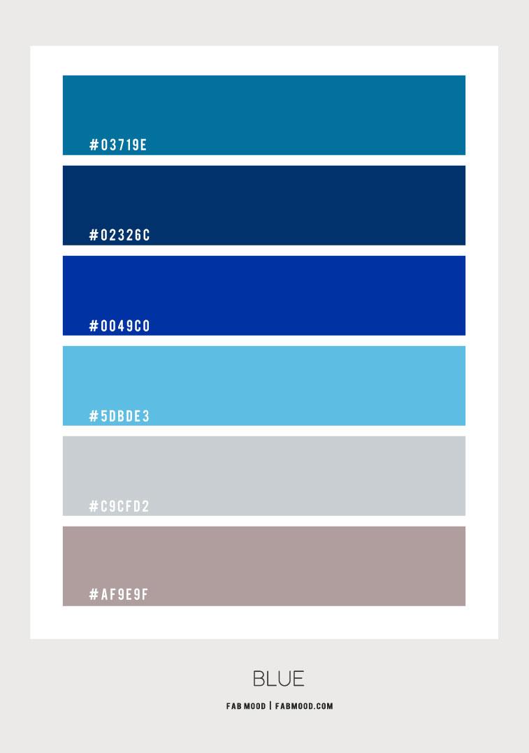 cheme, blue hue color combo, blue hue, royal blue and blue teal, blue color hex