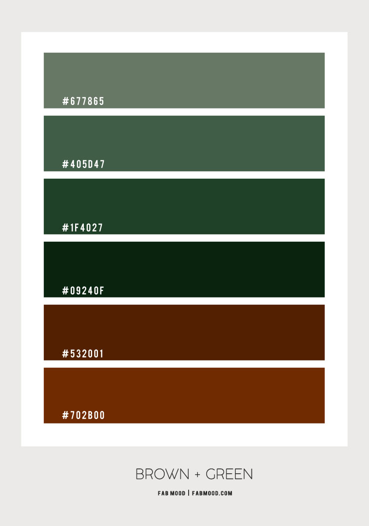 brown and green color scheme, green emerald color scheme, brown and green color combo , green color combinations , color palette