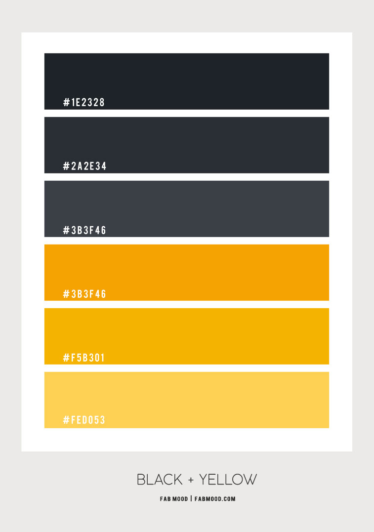 black and yellow color combo, black color combination with yellow, black and yellow color scheme, black and yellow color combos, black and yellow color