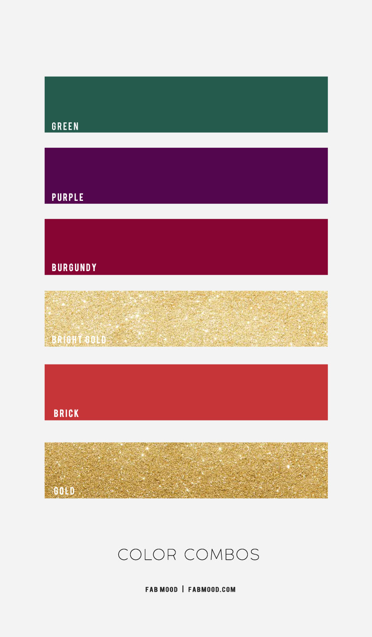 Jewel Tone Color Combos