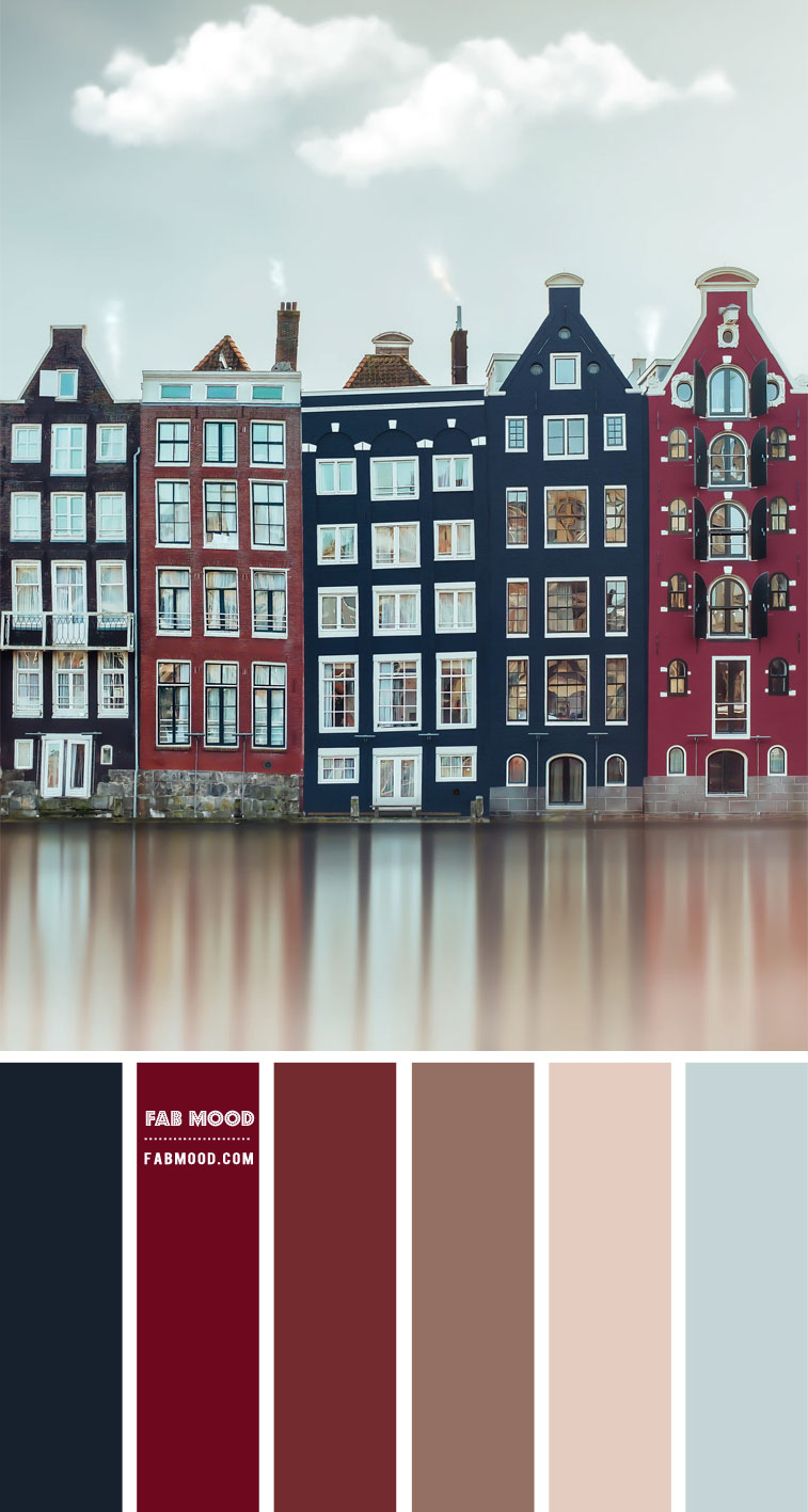 Amsterdam Inspired  – Colour Palette #91