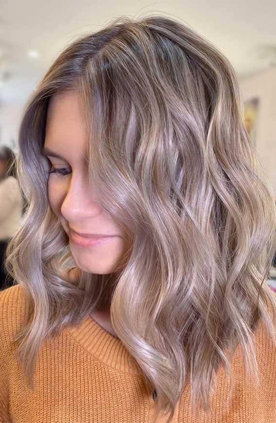 ash blonde lob hairstyle, lob haircut 2020, lob hairstyle 2020, lob vs bob, lob haircut with layers, bob hairstyles, lob with bangs, blunt bob, blonde lob