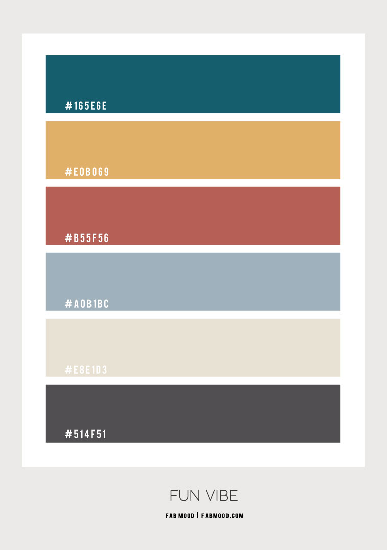 hex color, color hex, emerald and yellow spice, color palette , color combination, color scheme , dusty blue and terracotta, charcoal and dusty blue
