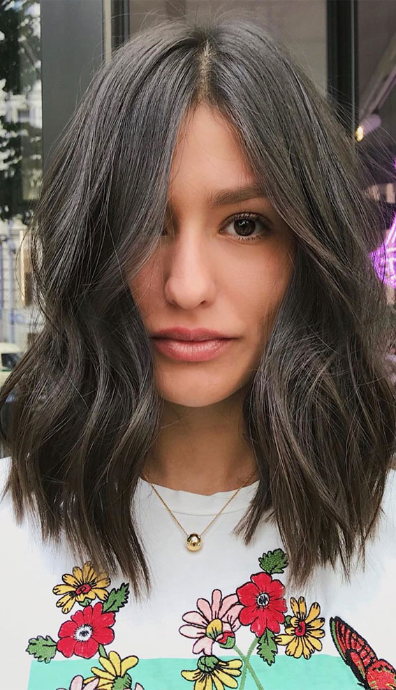 lob haircut with layers, wavy lob hairstyles, lob haircut with bangs, messy lob hairstyles, types of lob haircuts, curly lob hairstyles, bob hairstyles, long bob haircut , best lob hairstyles 2020, best bob hairstyles 2020