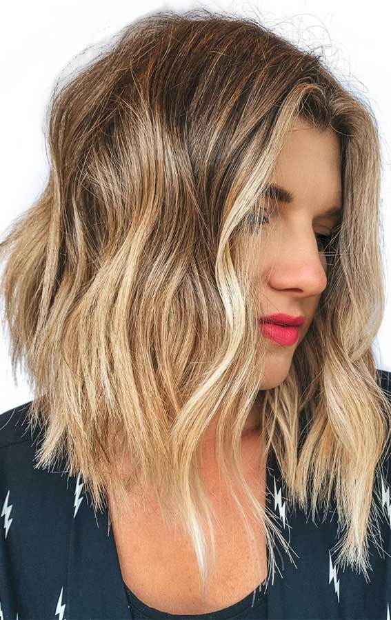 low maintenance haircut, medium length low maintenance hairstyle, medium length haircut, low maintenance hairstyle, dimensional blonde, lob haircut, lob hairstyle