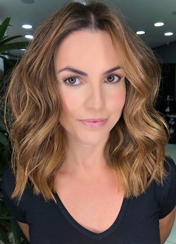 long bob haircut, lob haircut, lob hairstyle, long bob hairstyle, brunette lob haircut, brunette lob hairstyle