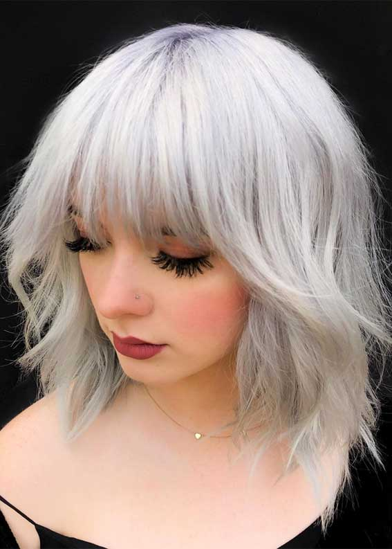 platinum shag, shag haircuts, shag hairstyles, shag haircut 2020, best shag haircuts, shaggy bob haircuts, 1970s+short+shag+haircut, shaggy hairstyle for round face, short shaggy haircuts for fine hair, how to style shaggy hair cut, medium shaggy hairstyles for thick hair