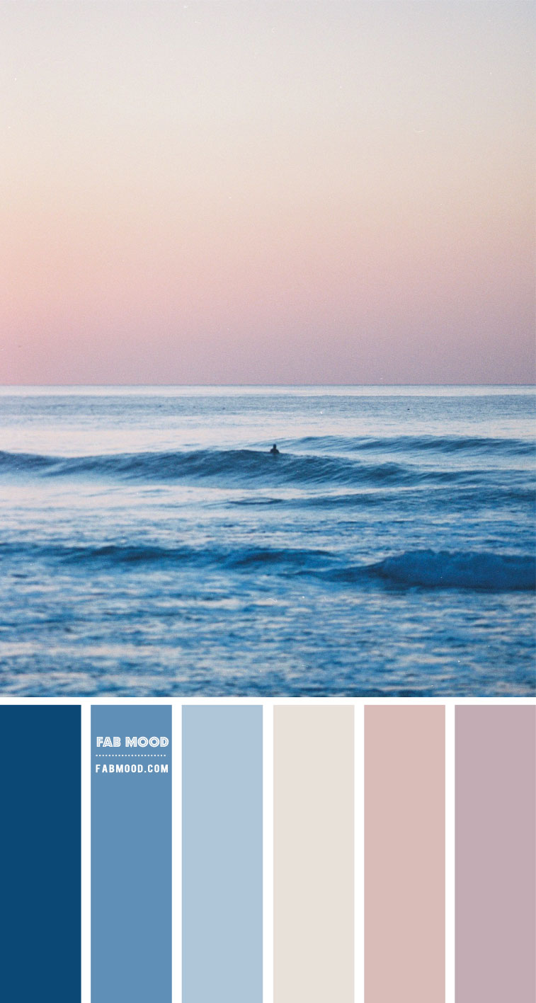 Blue and Mauve Colour Scheme – Colour Palette #100