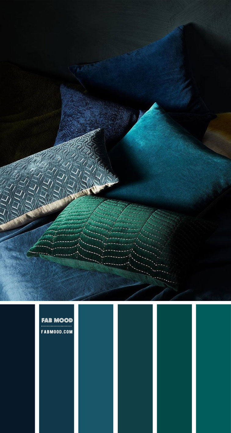 Blue Teal Colour Scheme  – Colour Palette #105