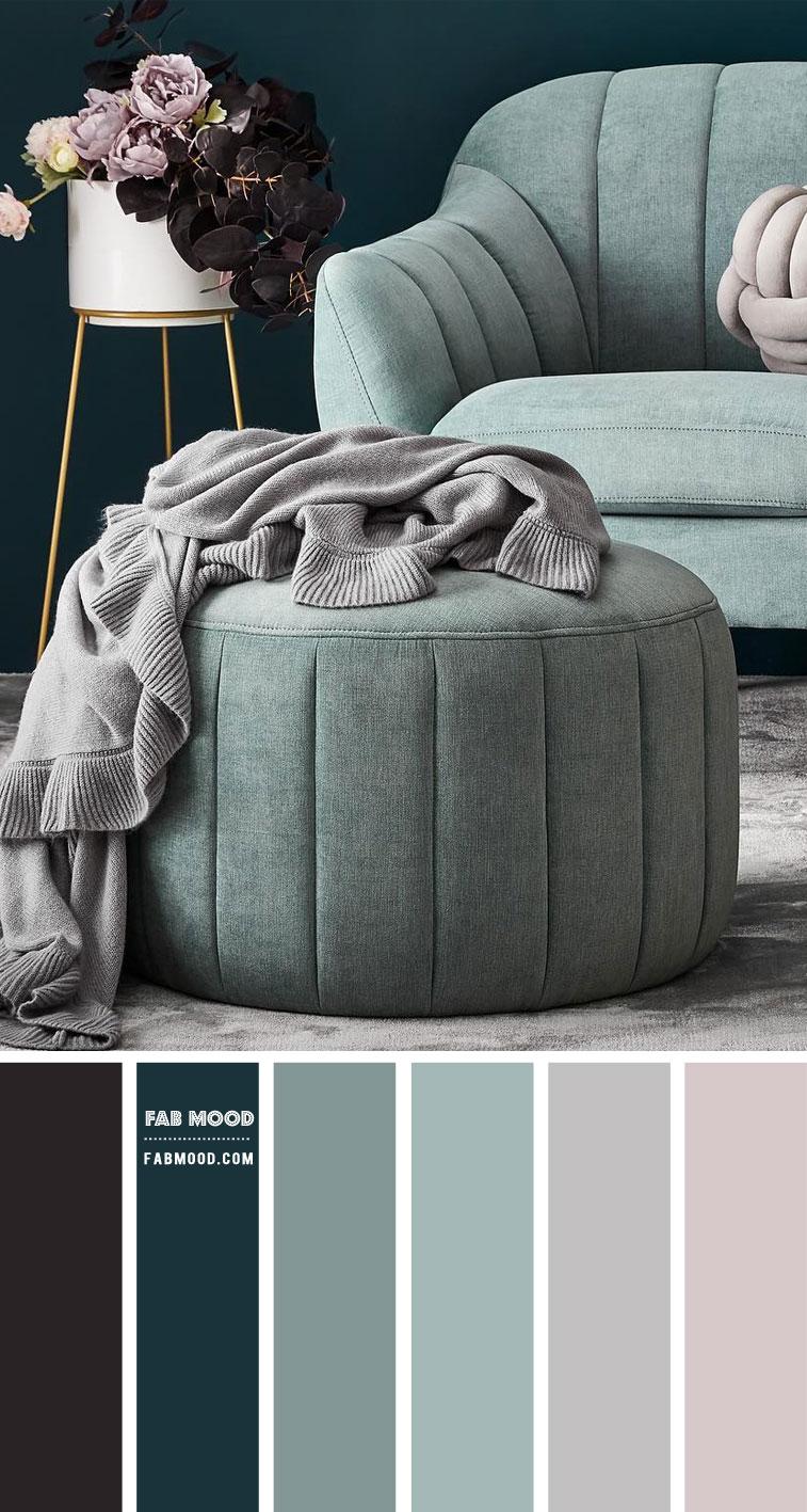 Grey and Sage Colour Scheme – #Colour Palette 107
