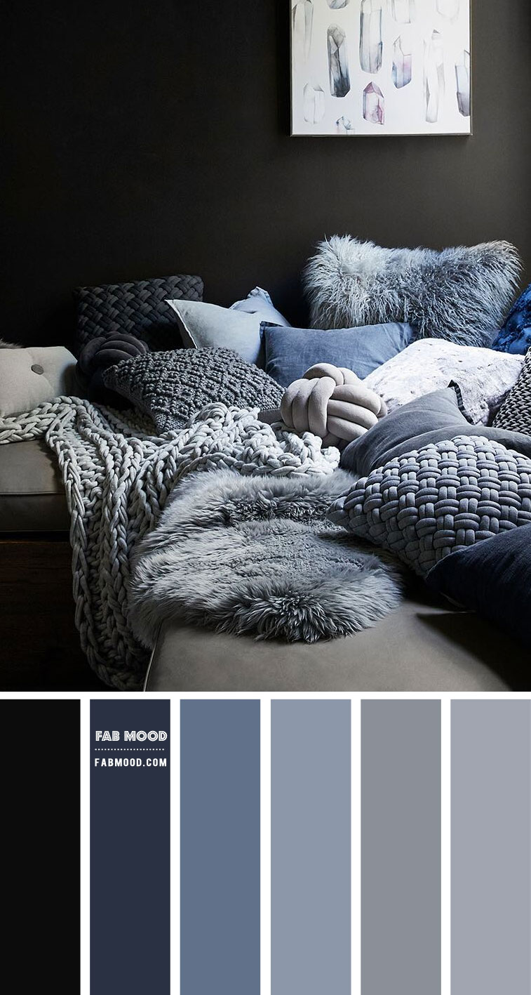 Blue and Grey Colour Scheme – #Colour Palette 109