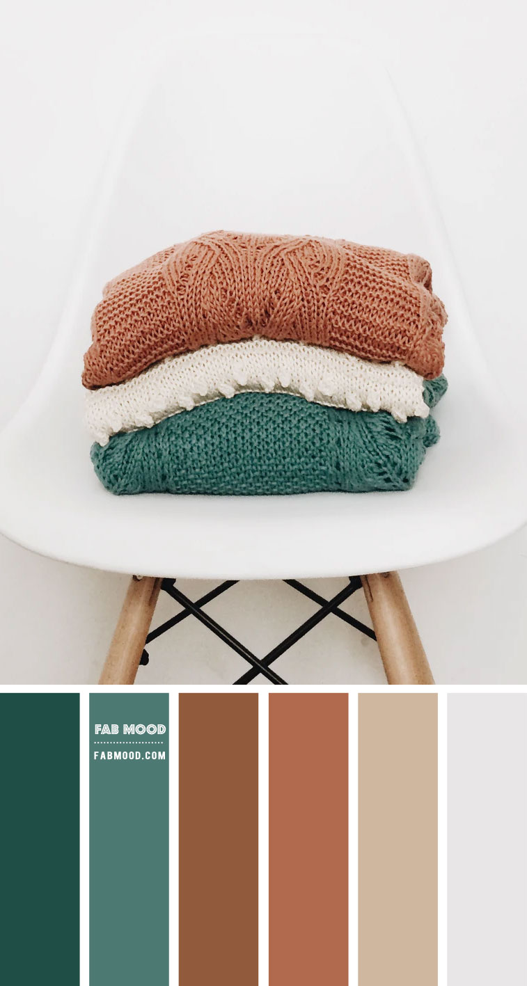 Brown and Green Colour Scheme – Colour Palette #97