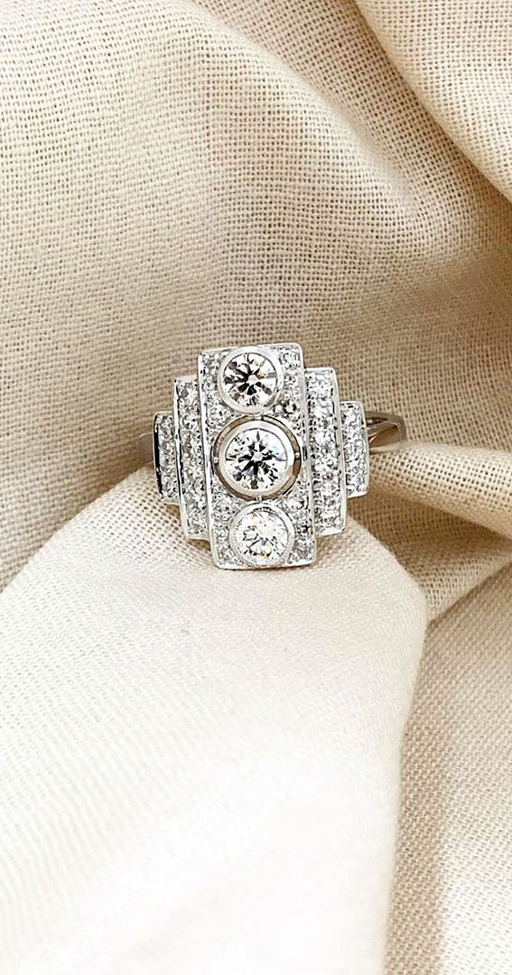 art deco engagement rings, best art deco engagement rings, art deco style engagement rings, art deco inspired engagement rings, art deco rings 1920, vintage engagement rings, vintage engagement rings 1920s