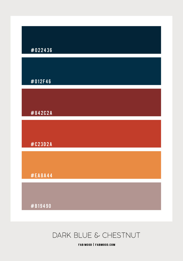 dark blue and chestnut , chestnut colour, dark blue and chestnut color combination, chestnut and dark blue color palette, chestnut and dark blue color scheme