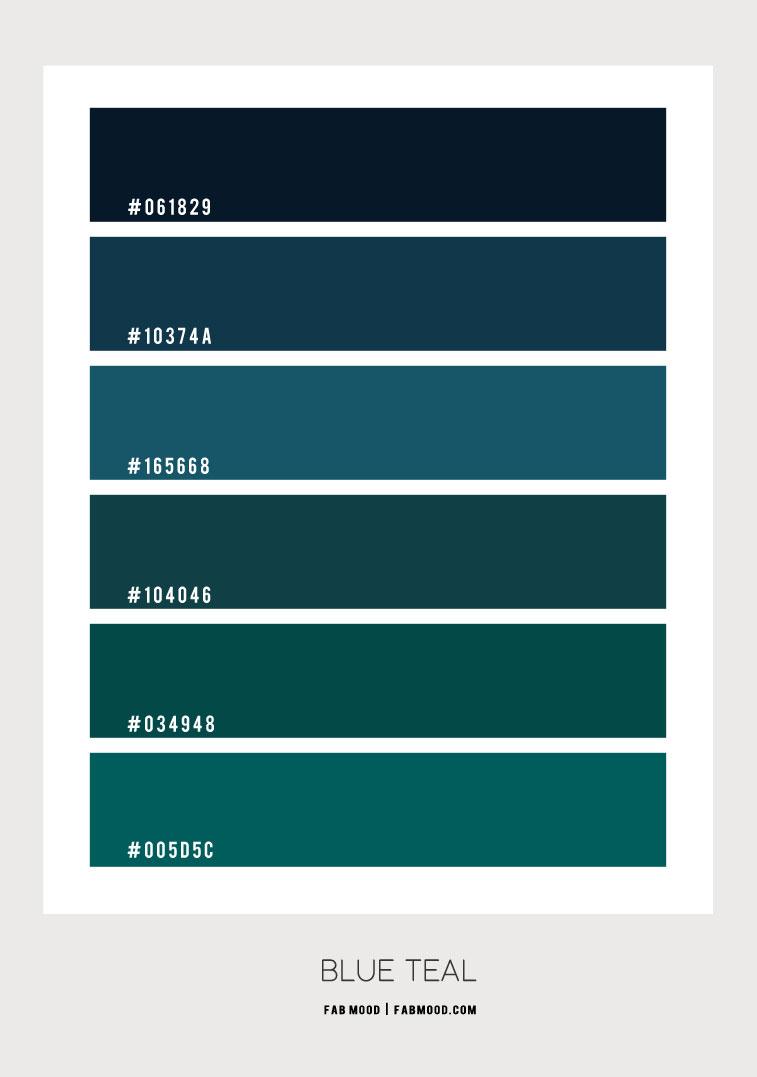 blue teal color scheme, blue teal colour palette, blue teal, deep blue, teal colour scheme, teal blue color combination