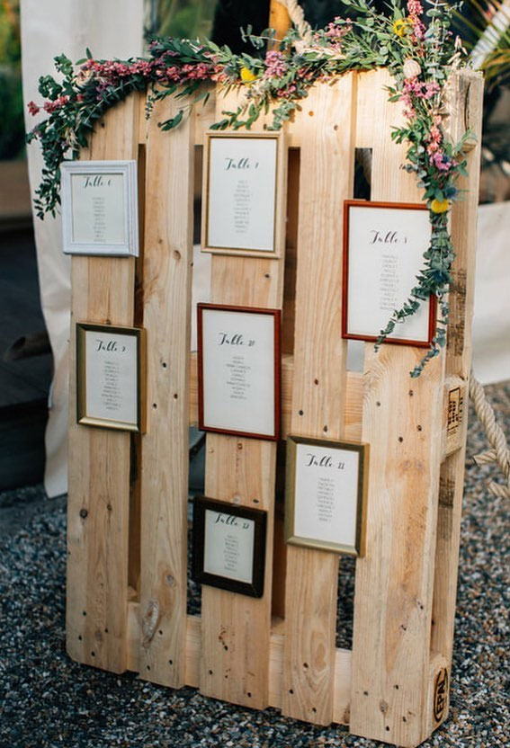 cheap wedding decor , wedding escort cards