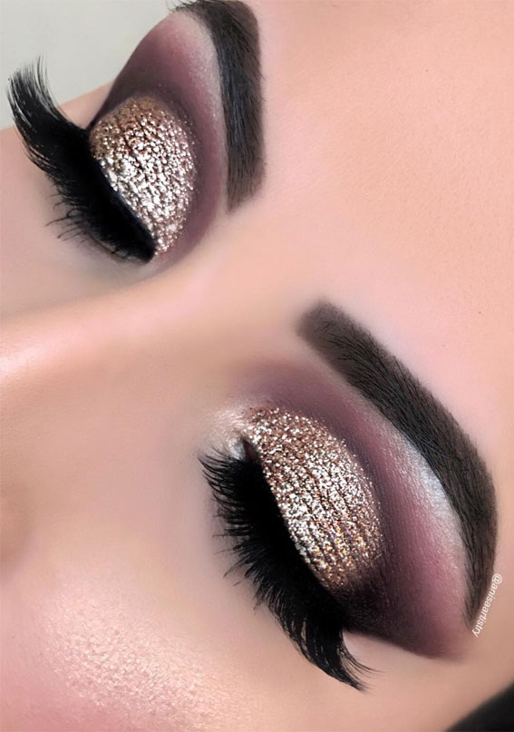 glam eyeshadow look, eye shadow look, eye makeup look, make up ideas , eye shadow makeup look