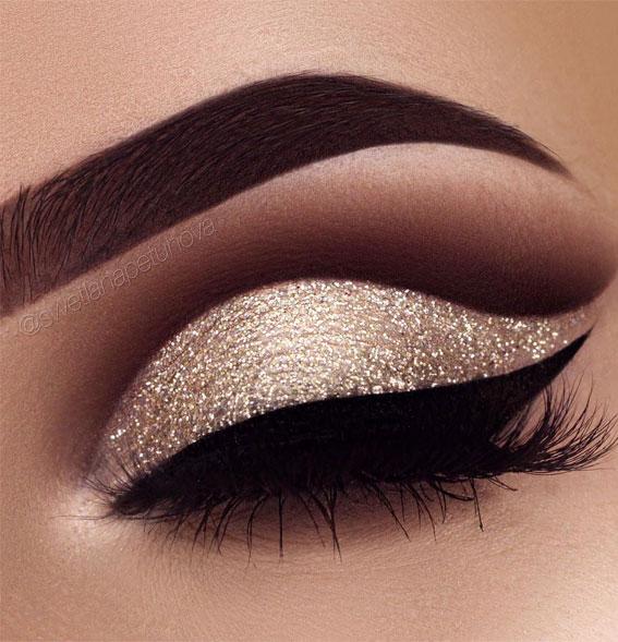 glam eye make up look, makeup look, eye shadow makeup looks