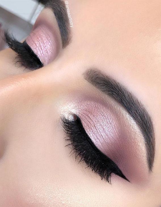 soft cut crease eyeshadow look, eye shadow look, eye makeup look, make up ideas , eye shadow makeup look