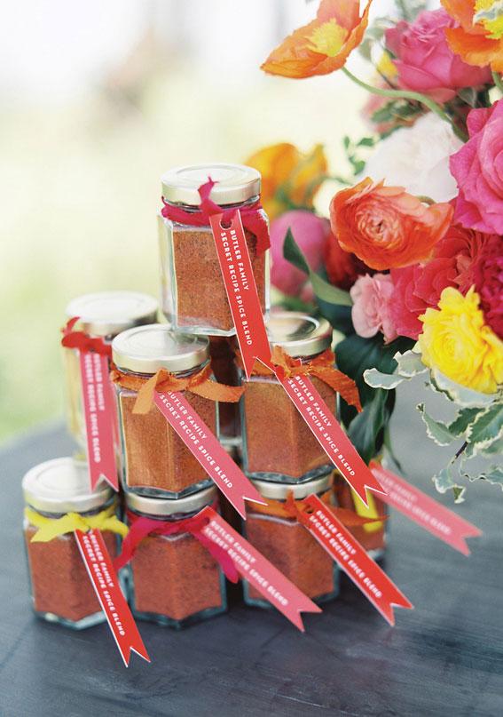 citrus wedding favors, wedding ideas, wedding favors, summer wedding favors