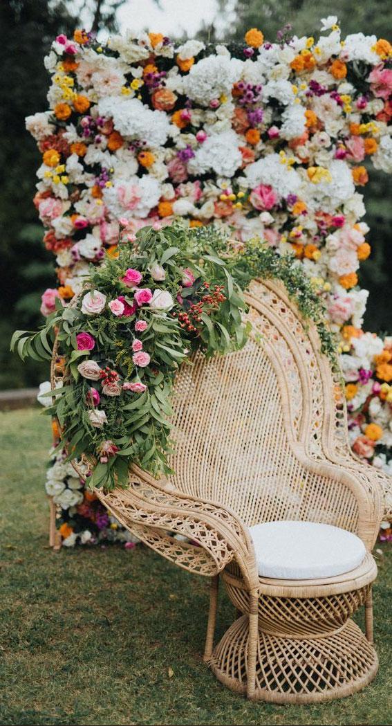 outdoor wedding , flower wedding decoration, summer wedding