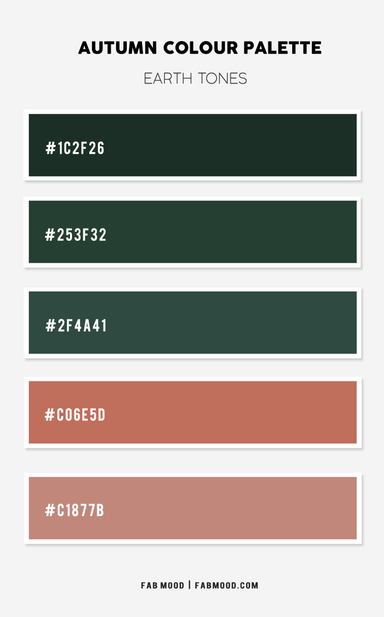 dark green and rose brown, terracotta and dark green, earth tones color scheme, autumn color ideas, living room color ideas
