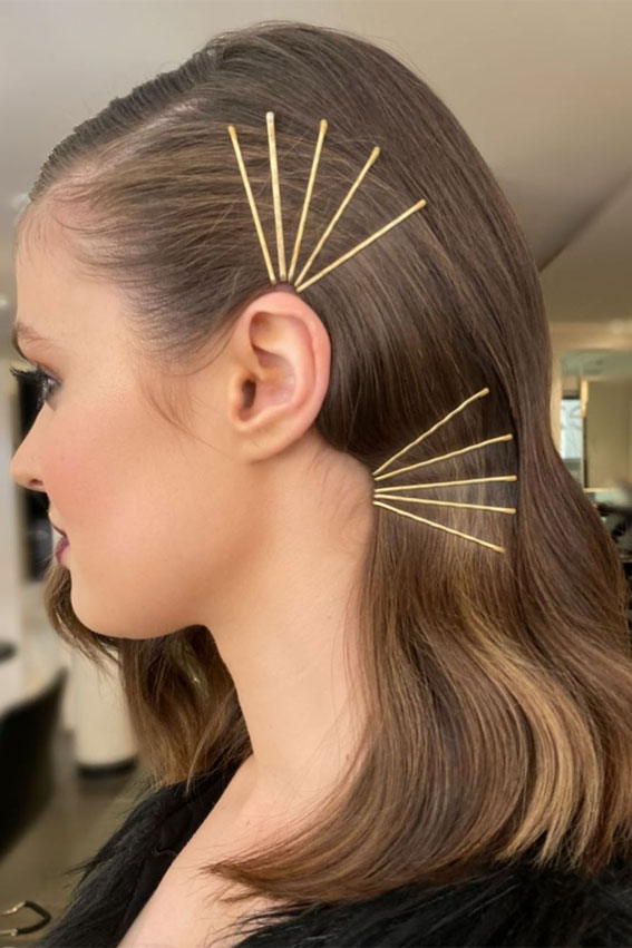 bobby pin hairstyle, bobby pin hairstyles, bobby pin hairstyle trend, bobby pins how to use