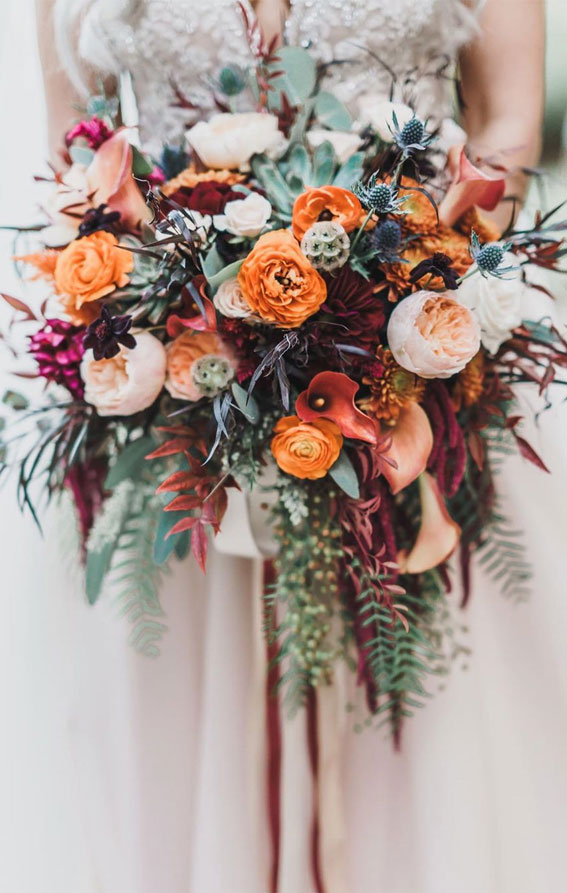 Fall Wedding Bouquets That Are Really Gorgeous