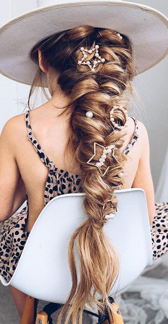 boho braid, chunky braids, braided hairstyle, best braid hairstyles 2020