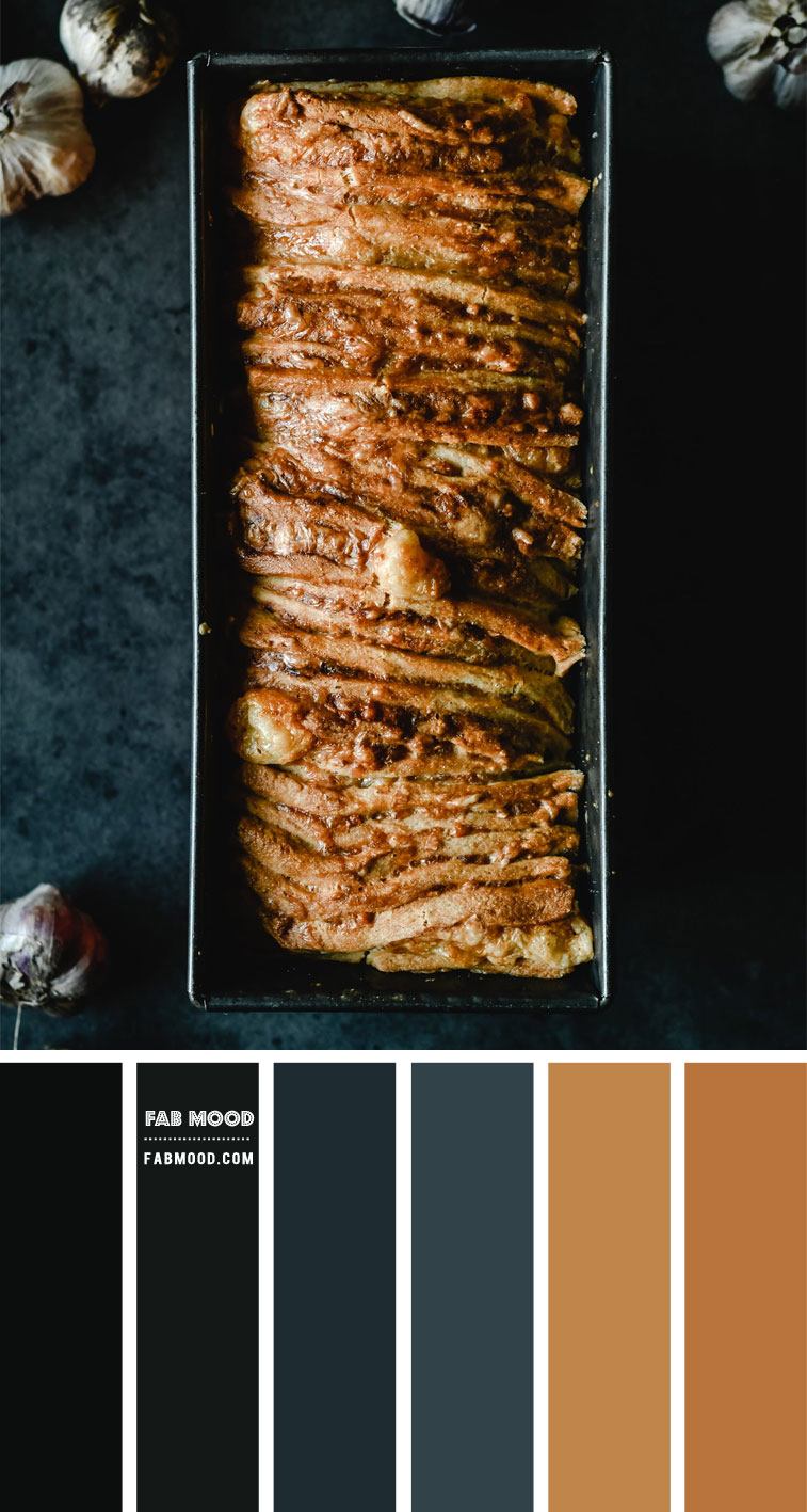 Brown and Dark Blue Color Combo – #Colour Palette 124