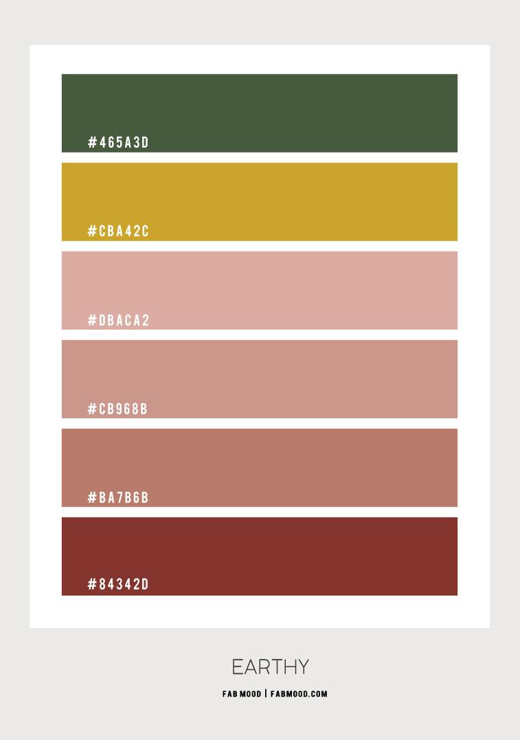earthy hex color, earth tone color, earth tone color scheme, earth tone color combo, warm earth tones