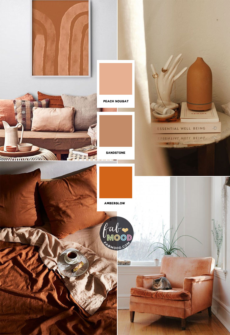 fall home decor, fall living decor, neutral color , terracotta home decor