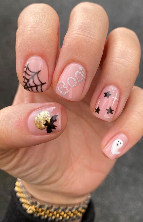 15 Cute Halloween Nail Designs 2020