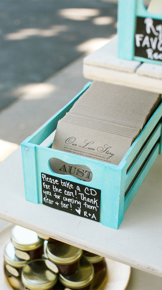 cd wedding favors, wedding favors
