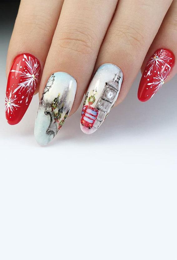 christmas tree nail design, red plaid christmas nails, christmas nail designs 2020, christmas nails, christmas nails 2020, red festive nails, red nail designs for christmas, easy christmas nail art, red christmas nail designs 2020, red nails, festive nails, red christmas nails