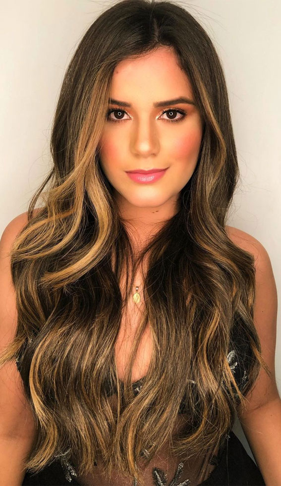 winter hair color, brunetthe, brunette balayage, hair color ideas, brown hair color