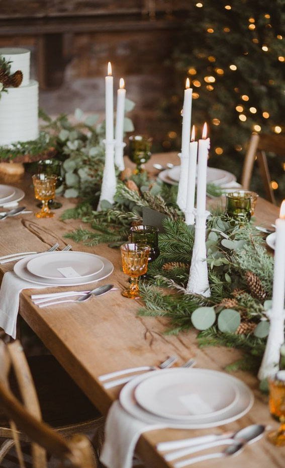 rustic christmas tablescapes, simple christmas table decorations, personalised christmas table decorations, modern christmas table decorations, christmas table decoration ideas, christmas table setting ideas, christmas table decors, luxury christmas table decorations, easy christmas centerpieces for tables, christmas table ideas 2020